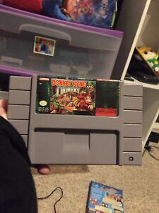 DonkeyKong Country (SNES) Nintendo, Retro