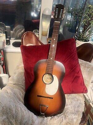 Vintage Kansas Parlour Acoustic 6 string guitar