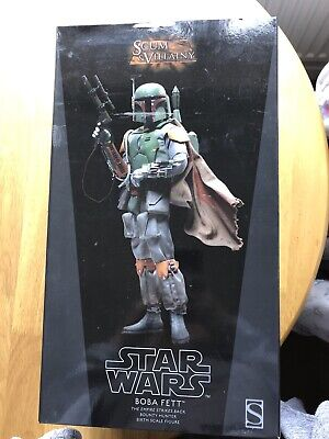 star wars boba fett Sideshow 2012 In Box - See Pictures