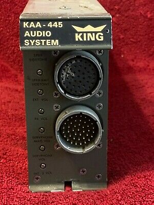 KING KAA 445 AUDIO SYSTEM P/N 071-2003-00