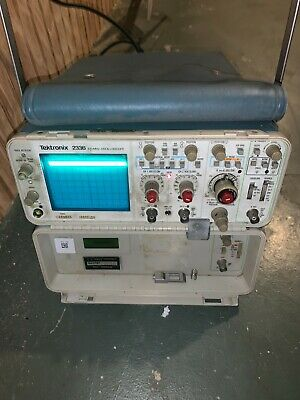 Tektronix 2336ya 100mhz 2-channel Portable Oscilloscope 5mv-5vdiv 0.5s-50nsdiv