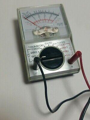 Vintage Analog Multi-tester Meter Multimeter Ohm. Electrical Circuit Tester