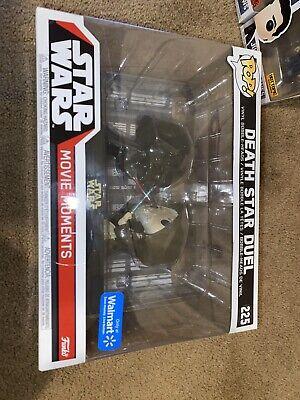 Death Star Duel Movie Moments Star Wars Funko Pop Walmart Exclusive