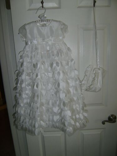 C.I. Castro & Co. Size 24M Months Baby Girl  Christening Baptism Gown  NEW