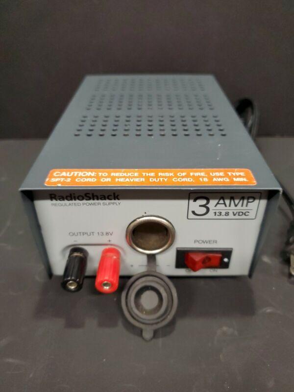 Radio Shack Regulated Power Supply 3 Amp 13.8 VDC CAT NO. 22-504 #2
