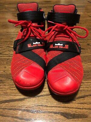 Nike Lebron James Soldier 9 IX Shoes Men's  Red Black US10.5