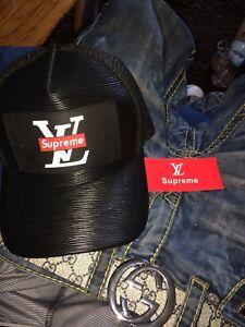 Louis Vuitton x Supreme hat