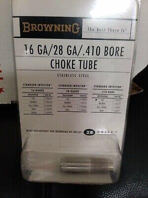 Browning 1130257 Invector Choke Tube 410 Gauge, Full Choke NEW NOC NOS