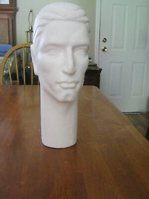 Lot Of 4 Stylish Male Styrofoam Heads