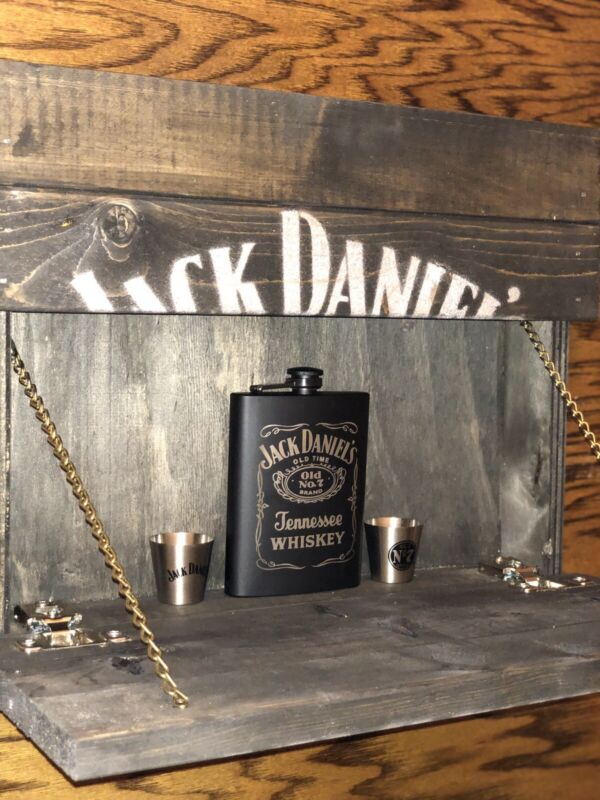 Jack Daniels Wood Concealed Box