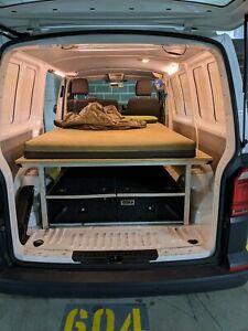 Van bed frame aluminium