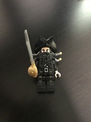LEGO PIRATES OF THE CARIBBEAN BLACKBEARD MINIFIGURE FROM THE BLACK PEARL