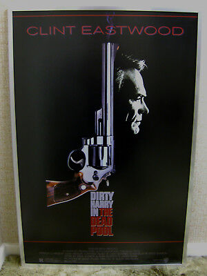 Warner Bros. Dirty Harry in The Dead Pool - Clint Eastwood - Framed Film Poster