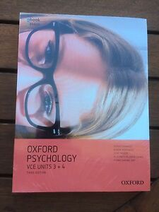 Psychology Oxford VCE Units 3 and 4 3rd Edition Warragul Baw Baw Area Preview