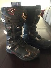 Motorbike boots Gordon Moorabool Area Preview