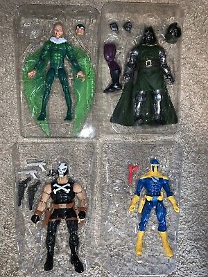 Marvel Legends Lot 4 Villians Vulture Dr. Doom Crossbones Spymaster