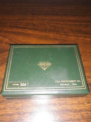 Vintage Gem Model 300 Test Indicator With Case