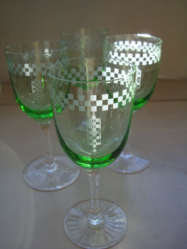 CLOSING SALE! Frank Lloyd Wright The Imperial Hotel Vintage Sherry Glass1920-60