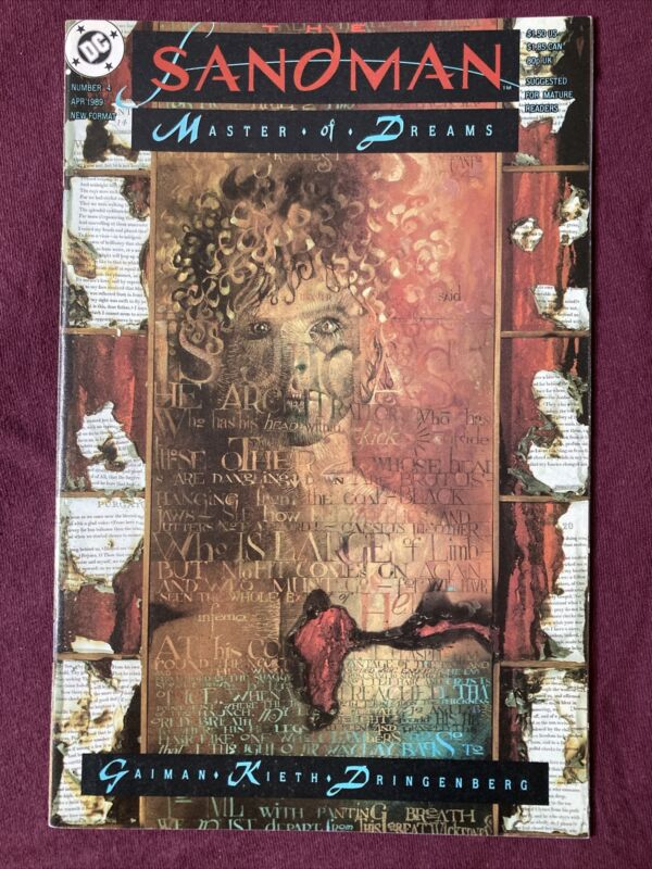 Sandman 4 DC/Vertigo 1989 1st Appearance Of Lucifer Morningstar