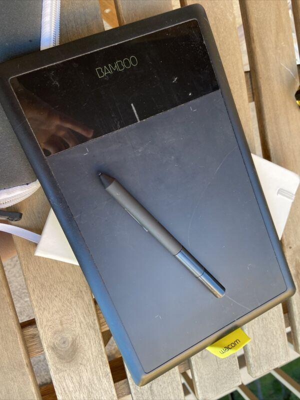 wacom bamboo pen tablet CTL-470