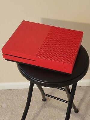 Xbox One S - Custom - Red - 500GB