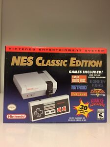 NES Classic Edition (Brand New in box with receipt)