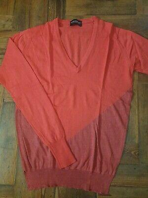 JOHN SMEDLEY Ladies 70% Merino Wool & 30% SILK Sweater Size Small