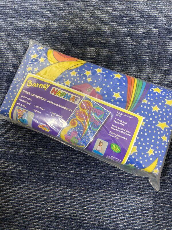 Vintage 90s Barney Nap Mat Sleeping Bag