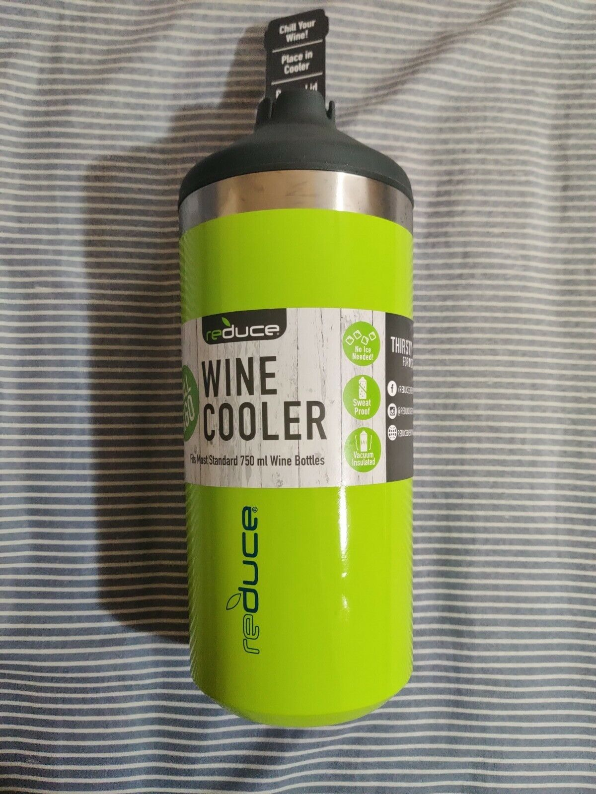 REDUCE WINE COOLER CHILL & GO VACUUM INSULATE FOR STANDARD 7
