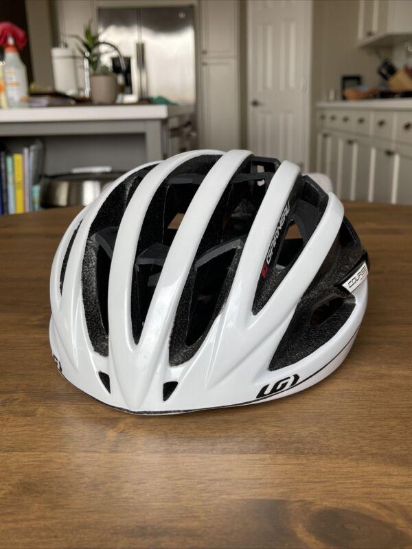 Louis Garneau Course Limited Edition Helmet White Size Large 59-62cm