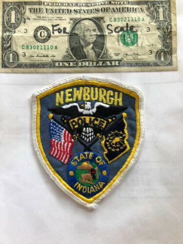 Newburgh Indiana Police Patch Pre-sewn good shape