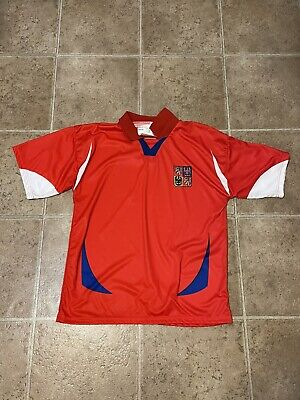 Czech Republic Soccer Jersey 2004/05 Adult Large image