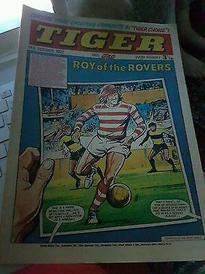 TIGER & JAG Comic - Date 14th October 1972