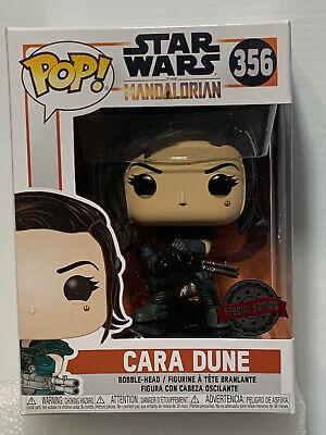 Funko Pop Star Wars #356 Cara Dune Toys R US Exclusive NEW UNOPENED