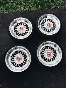 BBS RS DOUBLE STEP FULL POLISHED