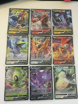 Sword &Shield V- Holo Pokemon Cards