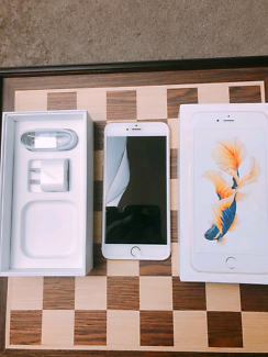 iPhone 6S Plus 128 GB Gold UNLOCKED in box