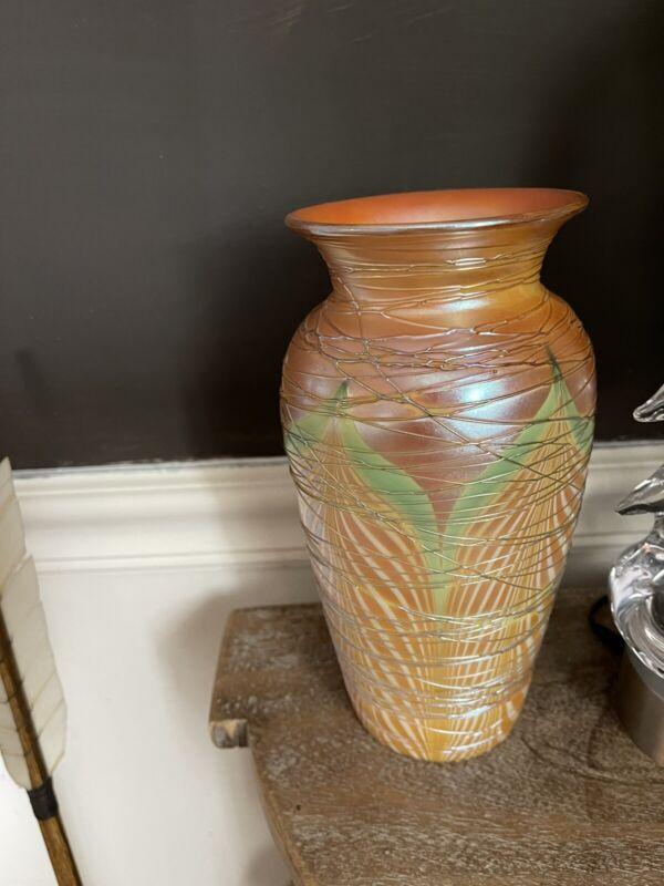 Beautiful Durand Antique Art Glass Vase