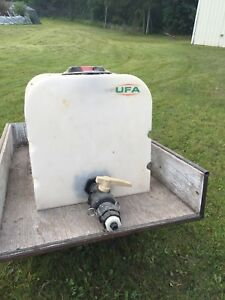2 Wheel Quaid Trailer with Poly water tank
