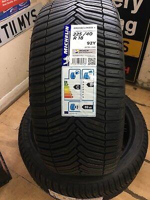 All season Tyre 225/40/18 92 Y MICHELIN Cross Climate+ 2 TYRES