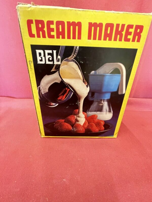 Bel Cream Maker / Excellent With Box And Booklet!