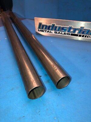 1-12 Od X 28-12-long Hrew Steel Round Tube.083wall-1.5 Od X .083wall 2pc