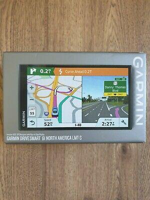 "Garmin DriveSmart 61 LMT-S Auto GPS Navigation with Lifetime Maps 6.95"" Screen"