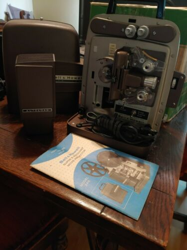 Bell & Howell super 8 autoload movie projector 346A