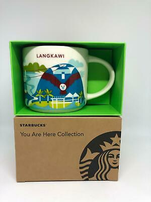 Starbucks You Are Here Langkawi Ceramic Coffee Mug New with Box