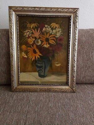 """Emil SCHELLER (1880-1942)"""" Ansicht einer Blumenvase"""