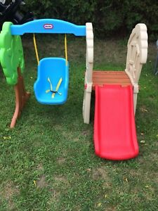 Little Tikes - Climber, Slide and Swing