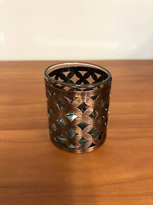 Yankee Candle Votive Candle Holders, Glass/Bronze Metal