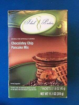 Ideal Protein Chocolatey Chip Pancake Mix - 7 Packets - EXP 12/21/21 - FREE SHIP