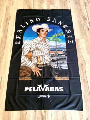 Chalino Sanchez Pelavacas 3ftx5ft flag banner limited edition rare collection